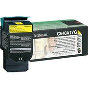 Lexmark Yellow Toner Cartridge (C540A1YG), Return Program