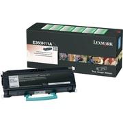 Lexmark™ E360H11A Black Toner Cartridge, High Yield