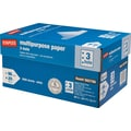 Staples® Multipurpose Paper, 8 1/2in. x 11in., 3-HOLE PUNCHED, Case