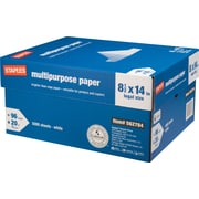Staples® Multipurpose Paper, 8 1/2 x 14, Case