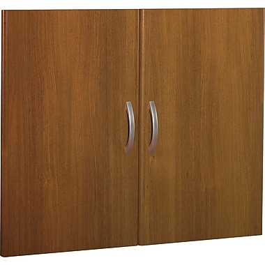 Bush Westfield Half-Height Door Kit, Warm Oak, Fully assembled