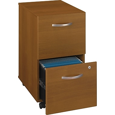 Bush Westfield 2-Drawer File, Cafe Oak
