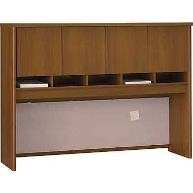 Bush Westfield 60in. 4-Door Hutch, Warm Oak