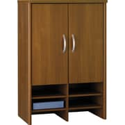 Bush Westfield 30 Storage Hutch, Cafe Oak, Fully assembled