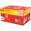 Staples® 30% Recycled Copy Paper, 8 1/2in. x 11in.,  3-HOLE PUNCHED, Case