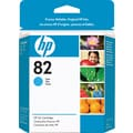 HP 82 Cyan Ink Cartridge (CH566A), 28ml
