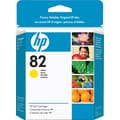 HP 82 Yellow Ink Cartridge (CH568A), 28ml