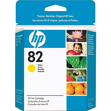 HP 82 Yellow Ink Cartridge 28 Mil (CH568A)