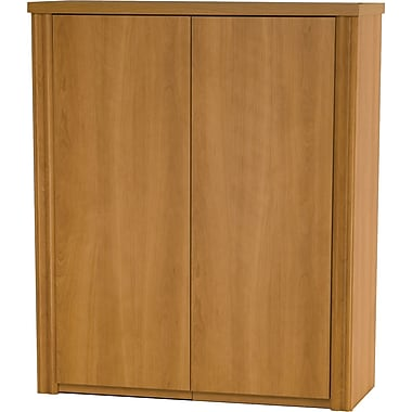 Bestar Embassy 2-Door Cabinet, Cappuccino Cherry, 30in.W