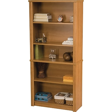 Bestar Embassy Modular Bookcase, Cappuccino Cherry