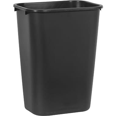 Brighton Professional™ Wastebasket, Black, 10 gal.