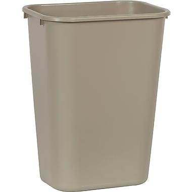 Brighton Professional™ Wastebasket, Beige, 10 gal.