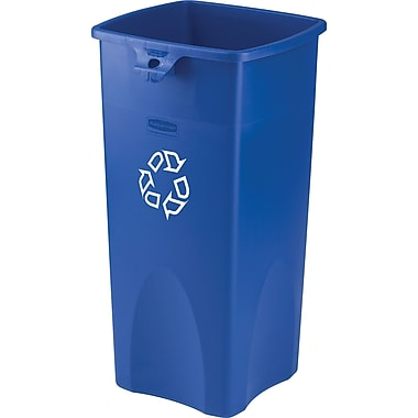 Desk-High Plastic Container for Paper Recycling