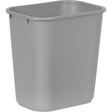Brighton Professional™ 7 Gallon Wastebasket, Gray (22179/19212)