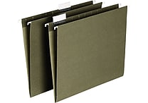 Staples® Hanging File Folders, Letter, 5 Tab, 25/Box