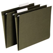 Staples® Hanging File Folders, Letter, 3 Tab, 25/Box
