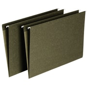 Staples® Hanging File Folders, Legal, Single Tab, 25/Box