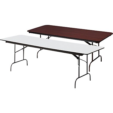 Iceberg Heavy-Duty Melamine Folding Banquet Tables