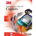 Transparency Film For Plain-Paper Copiers by 3M, PP2500, 100/Pack