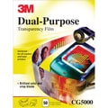 Universal Transparency Film by 3M, CG5000, 50/Pack