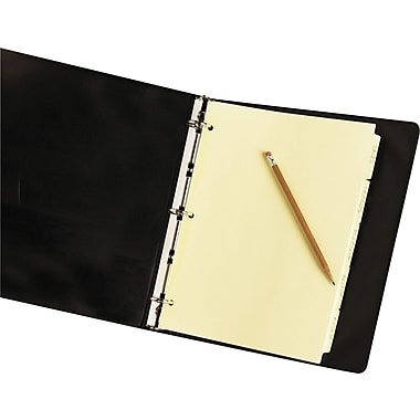 Avery Write On Tab Dividers, 5-Tab,  Buff