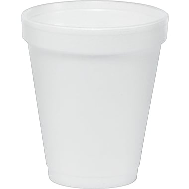 Dart® Insulated Foam Hot/Cold Cups, 6 oz., 1,000/Case