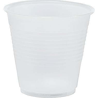 Translucent Plastic Cold Cups, 5 oz., 100/Pack