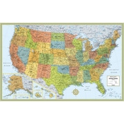 Rand McNally M-Series Full-Color United States Wall Map