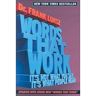 Words That Work, Used Book
