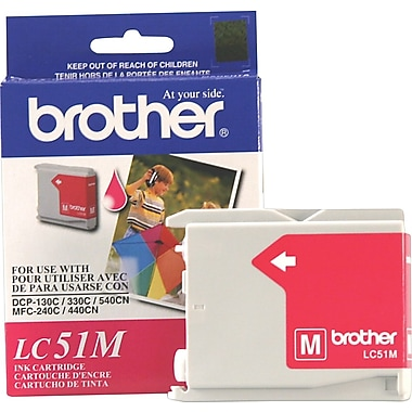 Brother – Cartouche d'encre LC51M magenta