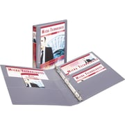 1 Avery® Heavy-Duty View Binders with One Touch Slant-D™ Rings, Gray