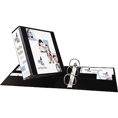 3in. Avery® Heavy-Duty View Binder with One Touch Slant-D™ Rings, Black