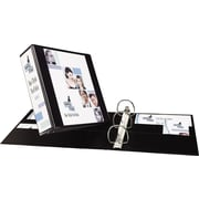 3 Avery® Heavy-Duty View Binder with One Touch Slant-D™ Rings, Black