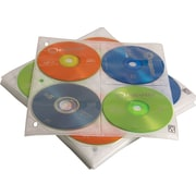 Case Logic CD/DVD Album Refill Pages, 25/Pack