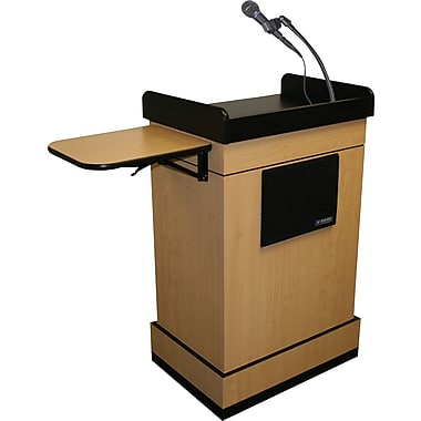 Amplivox Multimedia Computer Lectern with Sound System