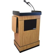 Amplivox Multimedia Computer Lectern with Sound System (WT)