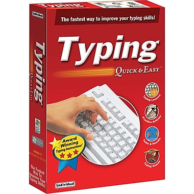 Individual Software Typing Quick & Easy 17 for Windows (1-User) [Boxed]