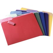 Pendaflex® Erasable Tab File Folders, Letter, 3 Tab , Assorted, 30/Box
