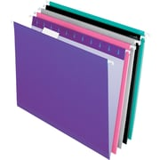 Pendaflex® 5 Tab Hanging File Folders, Letter, Assorted Colors 1, 25/Box