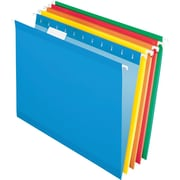 Pendaflex® 5 Tab Hanging File Folders, Letter, Assorted Colors 2, 25/Box