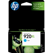 HP 920XL Cyan Ink Cartridge (CD972AN), High Yield