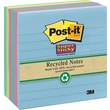 Post-it® Super Sticky 4in. x 4in. Line-Ruled Tropic Breeze Notes, 6 Pads/Pack