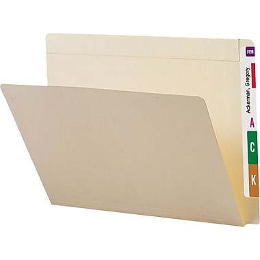 Smead Conversion End-Tab File Folders, Letter, 100/Box