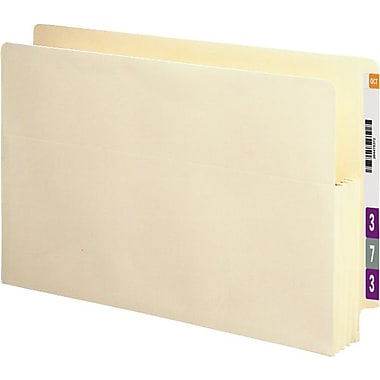Smead® End-Tab Manila Expanding File Pockets, Legal, 3 1/2in. Expansion, 25/Box