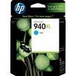 HP 940XL Cyan Ink Cartridge (C4907AN), High Yield