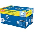 Staples® 50% Recycled Multipurpose Paper,81/2in.x11in.3-HOLE PUNCHED,Case