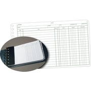 "Staples® Ledger Refill Sheets, 5"" x 8-1/2"""