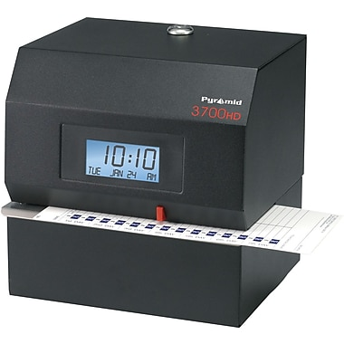 Pyramid Technologies 3700HD Heavy-Duty Electronic Time Clock