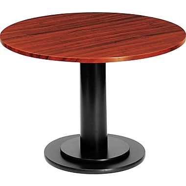 Iceberg 36in. Round Laminate Conference Table Top, Mahogany