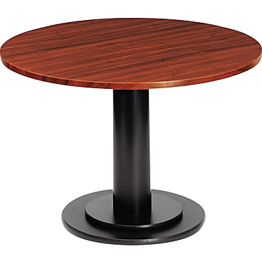Iceberg 42in. Round Laminate Conference Table Top, Mahogany